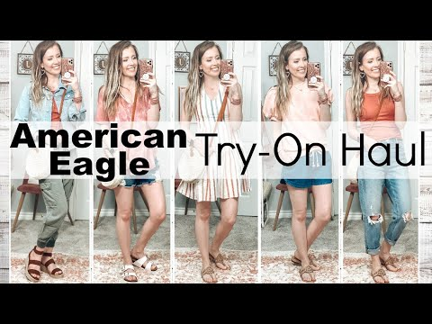 AMERICAN EAGLE SUMMER TRY ON HAUL!! 💕