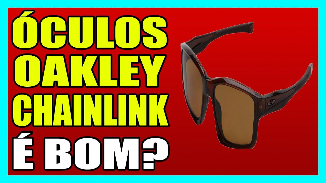d5c656daeaf8d ÓCULOS OAKLEY CHAINLINK - POLARIZADO - YouTube