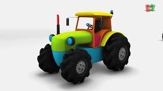 Játék videók gyerekeknek | traktor játék videók | gyerekek szállítása videók