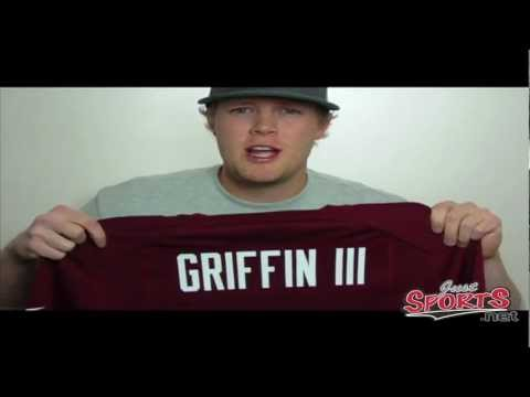 Nike Robert Griffin III Washington Redskins Replica Name & Number Player T-Shirt - Gold