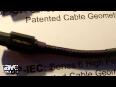 CEDIA 2014: Tributaries Features Its 14AWG, 15-Amp 6P-IEC Shielded Power Cable