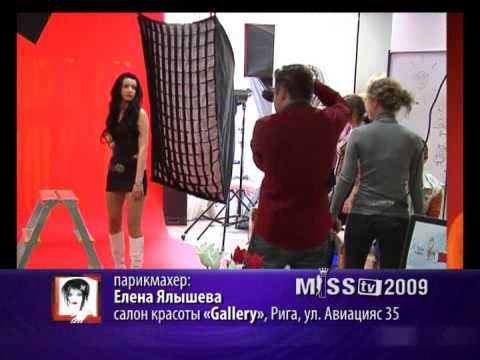 Miss TV 2009 on latvian channel TV5 (Riga, Latvia), Nr.: 034, showman: Vitalij Belka