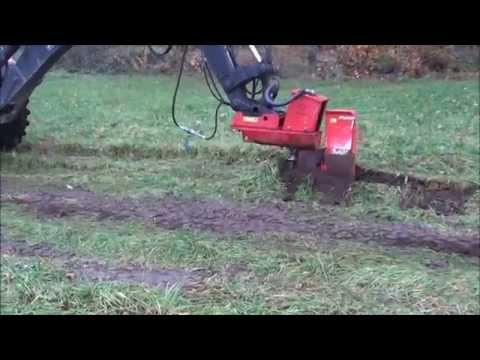 KPH Hydraulic Cable Plough / KPH Hydraulischer Kabelpflug