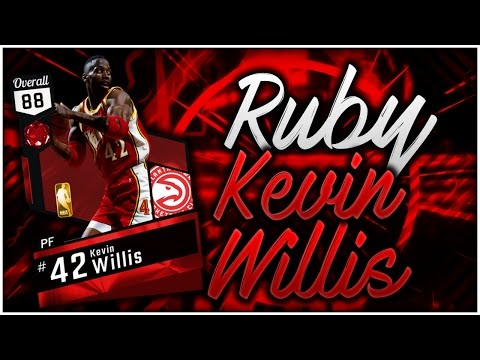 RUBY 88 OVR KEVIN WILLIS! THE PIXEL IS SUPERIOR THAN THE MAN! NBA 2K17 MyTEAM PLAYER REVIEW GAMEPLAY