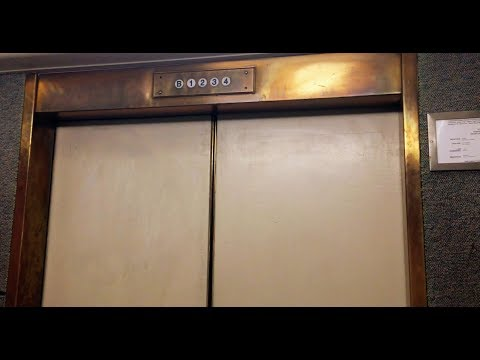 Amazing Old Westinghouse Traction Elevator at UC Berkeley Sproul Hall in Berkeley CA, United States