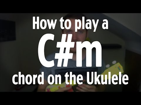 Cm Baritone Ukulele Chord Worshipchords