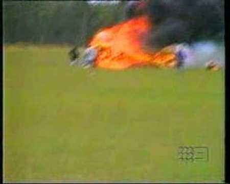 Tragic Airplane Accident - Biplane Loses Power on T.O.