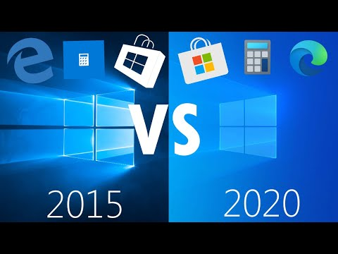 A Look Back at Windows 10 From 2015! (1507 vs 2004)