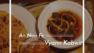 Haitian Recipes: Vyann Kabwit   Haitian Goat