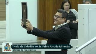 05ª Sessão Solene - Fábio Arruda Miranda - 2019
