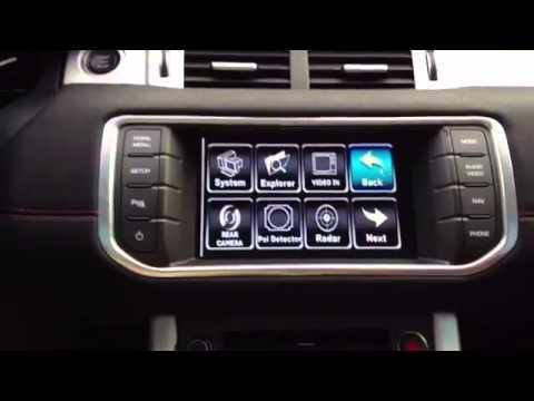 Stage Motion TV Tuner and Sat Nav upgrade for Range Rover Evoque@EvoqueTV
