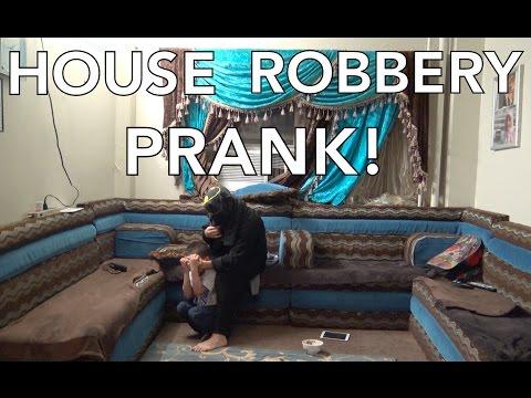 HOUSE ROBBERY PRANK!!