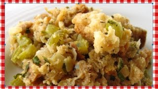 Easy Stuffing Bake ~ Semi-Homemade Stuffing Recipe ~ Noreen's Kitchen