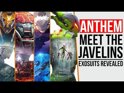 ANTHEM - ALL JAVELIN CLASSES | WHICH WILL YOU CHOOSE?