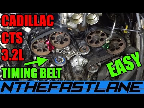 How To Replace CTS Timing Belt