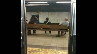 Vdeo: This is a Brooklyn bound M train, next stop, Bowery.