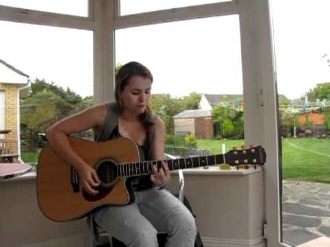 Rachel O'Sullivan - Valerie, Amy Winehouse - Acoustic Guitar Cover