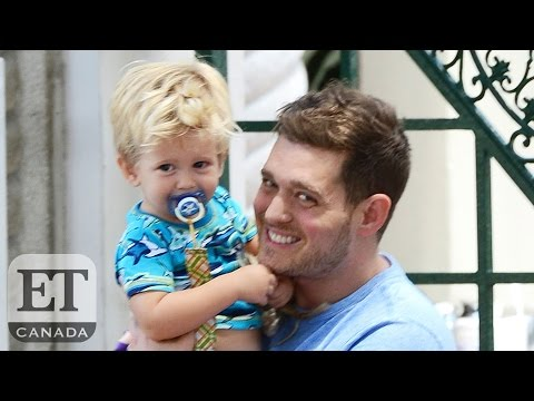 Michael Buble's Son Noah Diagnosed With Cancer