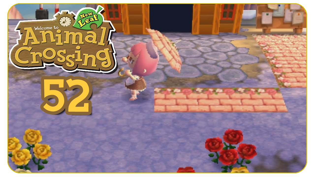 Sowas Wie Ein Weg 52 Animal Crossing New Leaf Let S Play Youtube