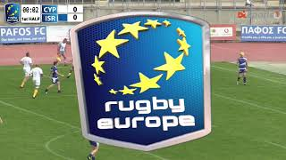 Europe Rugby | Cyprus vs Israel - VOD