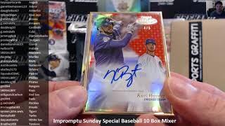 Impromptu Sunday Special Baseball 10 Box Mixer ~ 6/24/18