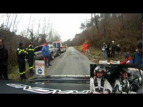 Rally Del Carnevale 2012: Parri-Riterini Citroen C2 A6