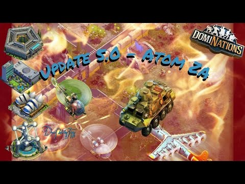 #252. DomiNations - Update 5.0 Atom Zeitalter! Helikopter, A