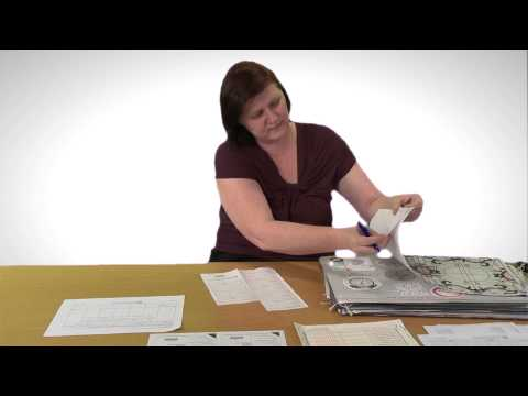 Teacher assessment: Selecting, packing and submitting coursework samples