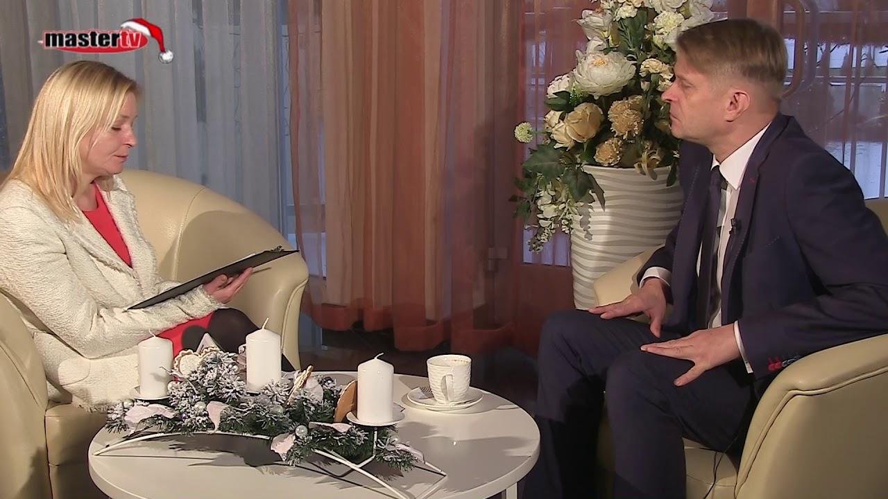MASTER TV ŁUKÓW – Wywiad z burmistrzem Dariuszem Szustkiem