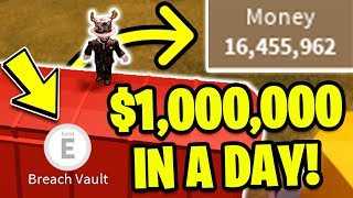 *NEW METHOD!* HOW TO GET 1 MILLION DOLLARS FAST! (Roblox Jailbreak) | MyUsernamesThis Route