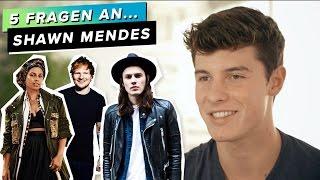 5 Fragen an...Shawn Mendes: Mit wem will er zusammenziehen? Was hört er privat?
