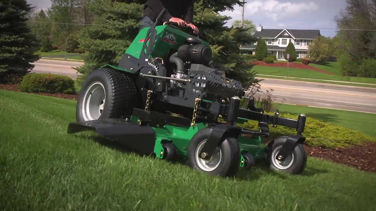 See The BOB-CAT QuickCat Stand-On Mower in Action