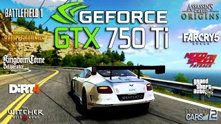 nVIDIA GeForce GTX 750 Ti 2GB: gameplay в 26 играх за 2017-2018