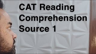 CAT Reading Comprehension Source 1 - AEON !