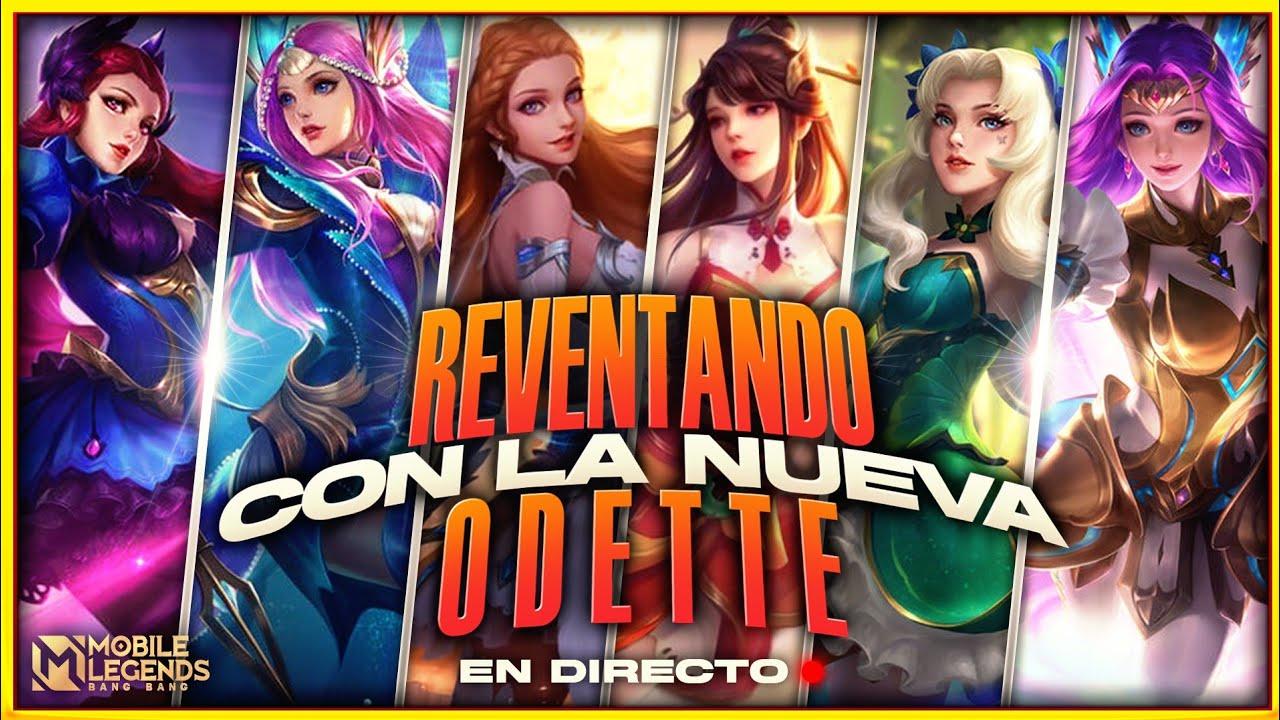 Download ¡¡A FULL CON EL NUEVO REVAMP DE ODETTE EN DIRECTO!!🔥💪🏻