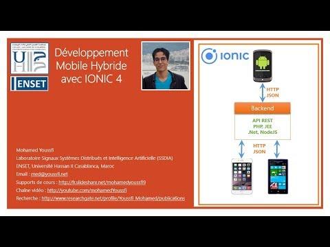 Part 2  Développement Mobile  Hybride Avec IONIC 4