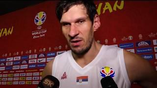 Boban Marjanović Nakon Pobede nad Portorikom na Mundobasketu   SPORT KLUB KOŠARKA