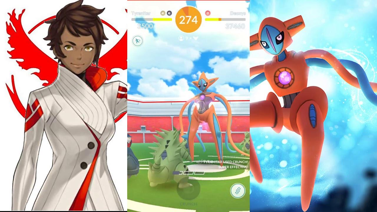 Pokemon GO - EX Raid - Attack Forme Dexoyx Gameplay Walkthrough - YouTube
