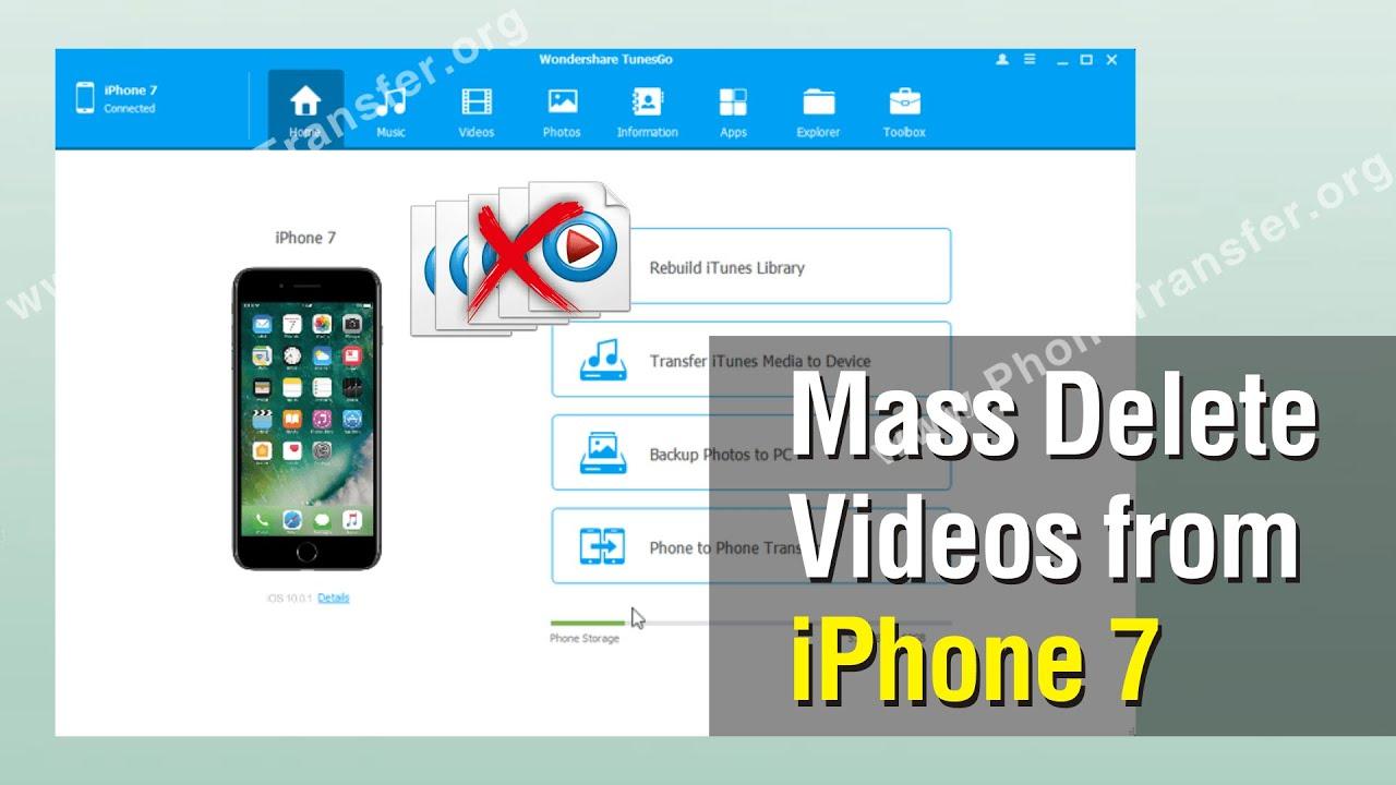 7 Plus, Erase Iphone Videos Batch