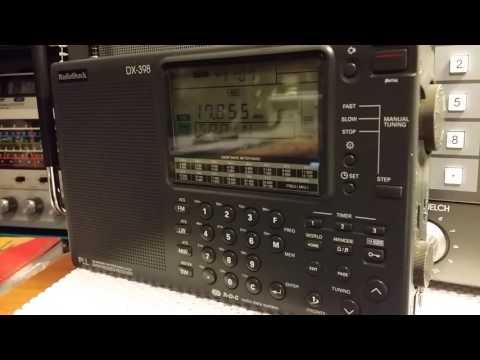 Radio Shack DX-398 Radio Exterior De Espana