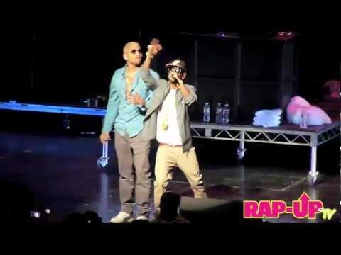 Big Sean and Chris Brown Perform 'My Last' at Cali Christmas