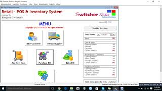 Point Of Sale Inventory Management