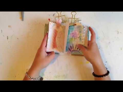 "Handmade  Art Journal ...  "" I was feeling Wild "" ..."
