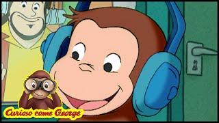 Curioso come George 🐵DJ George 🐵Cartoni Animati per Bambini 🐵George la scimmia