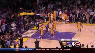 Ron Artest: From Goat To Hero With Putback of Kobe's Miss - Game 5 NBA Playoffs