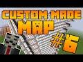 Custom made minecraft map: Door maze #6