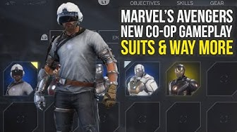 Marvel Avengers Gameplay - New Outfits, Co-Op Gameplay, Gear & Way More! (Marvel's Avengers Gameplay