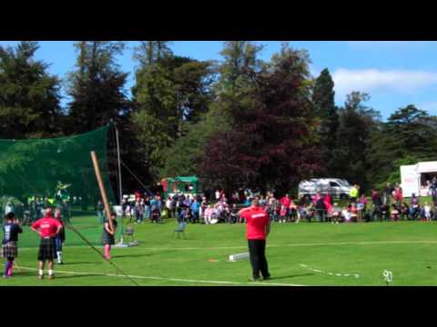 Women Tossing The Caber World Highland Games Heavy Events Championships Scotland