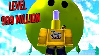 ROBLOX SLIME SIMULATOR *PLANET SIZED SLIME*