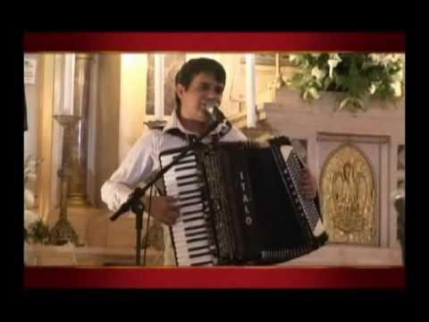 Tributo ao Cristo Rei - Oração de São Francisco no acordeão sanfona por Ítalo e Reno